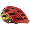 Giro Hex Helmet mat glowing red/highlight yellow
